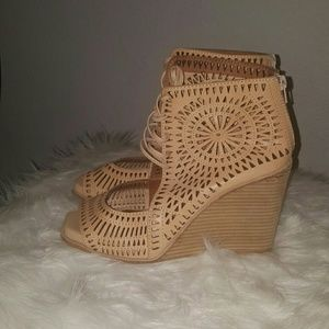 ⭕Jeffrey Campbell Open Toe Wedges